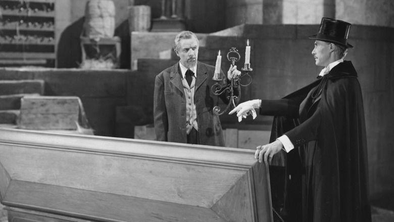 House of Dracula movie scenes