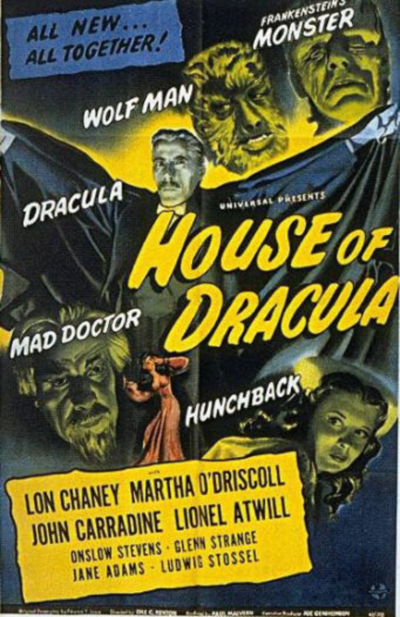 House of Dracula movie poster