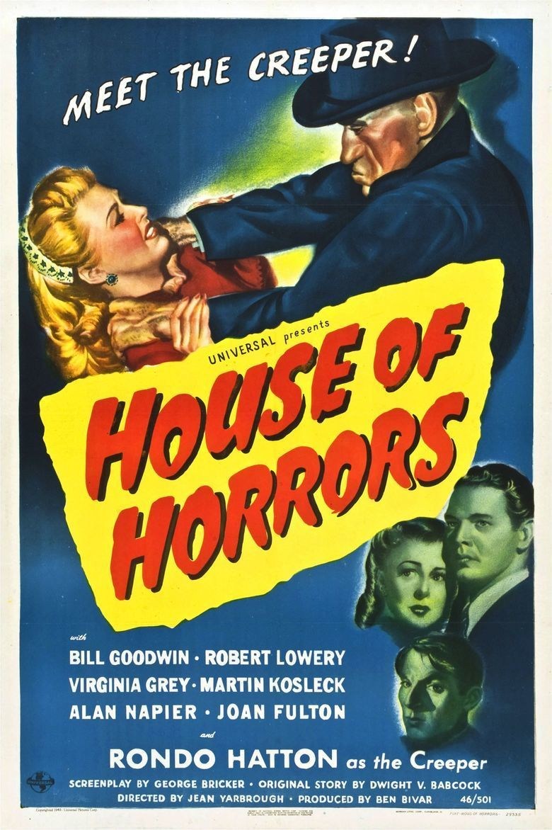 House of Horrors movie poster