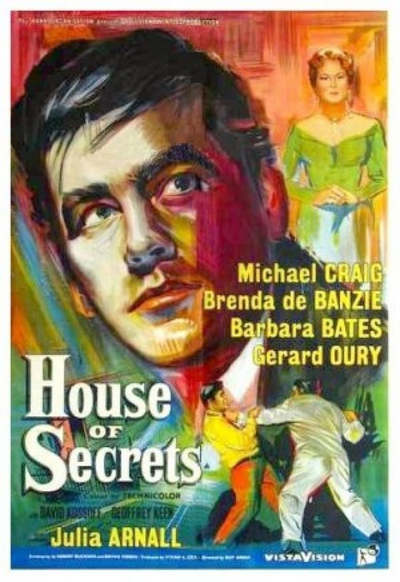 House of Secrets (1956 film) movie poster
