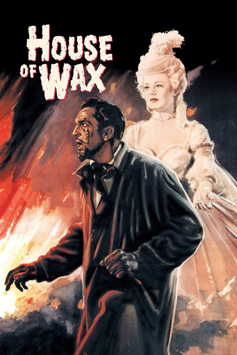 House of Wax (1953 film) movie poster
