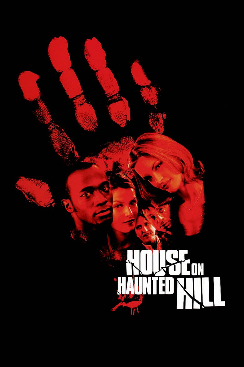 House on Haunted Hill (1999 film) movie poster