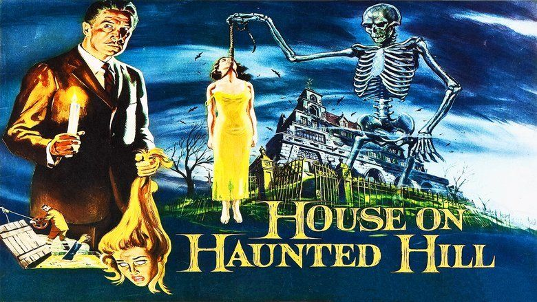 House on Haunted Hill movie scenes