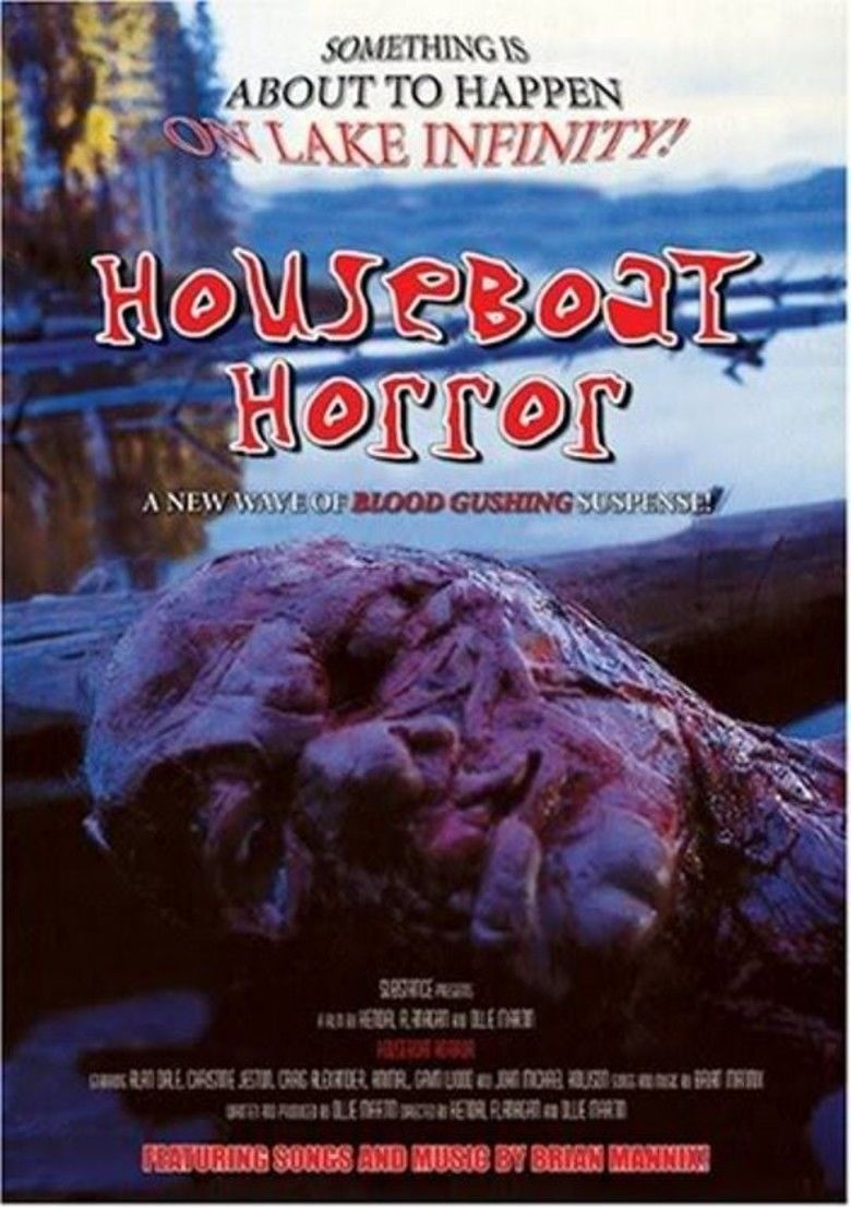 Houseboat Horror movie poster
