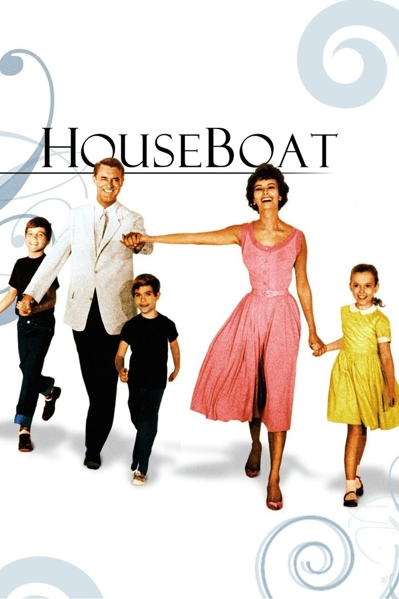 Houseboat (film) movie poster