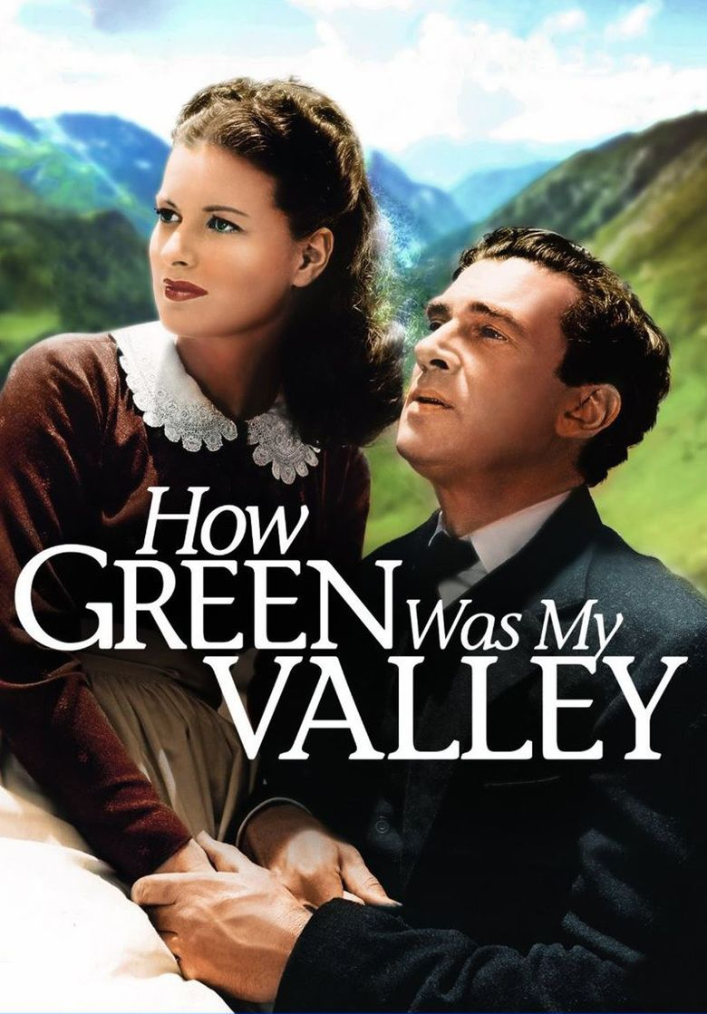 How Green Was My Valley (film) movie poster