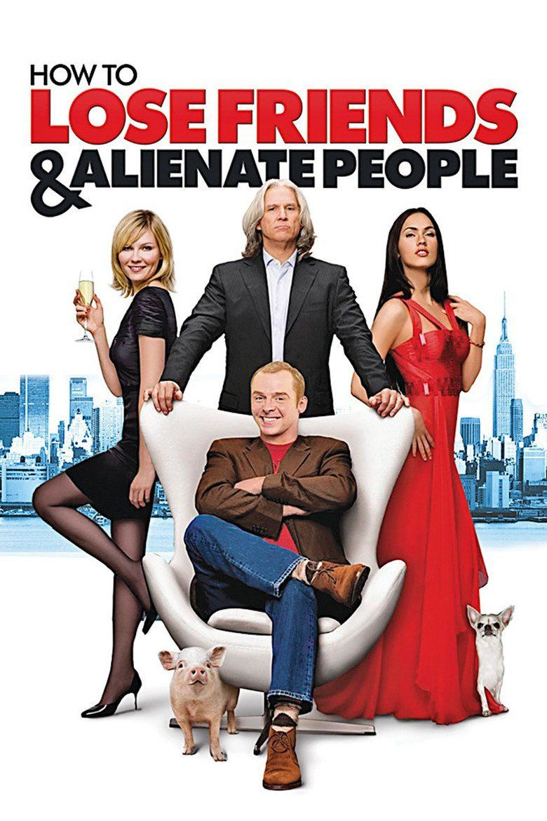 How to Lose Friends and Alienate People (film) movie poster