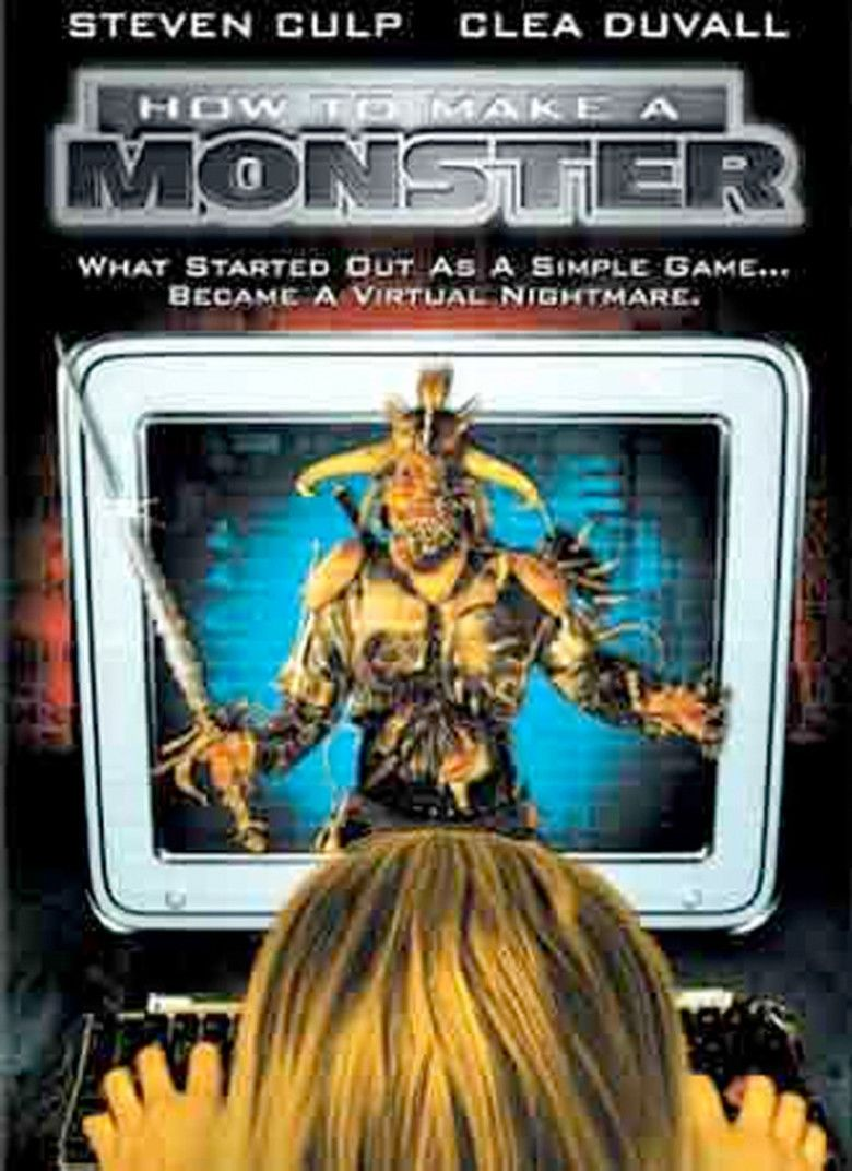 How to Make a Monster (2001 film) movie poster