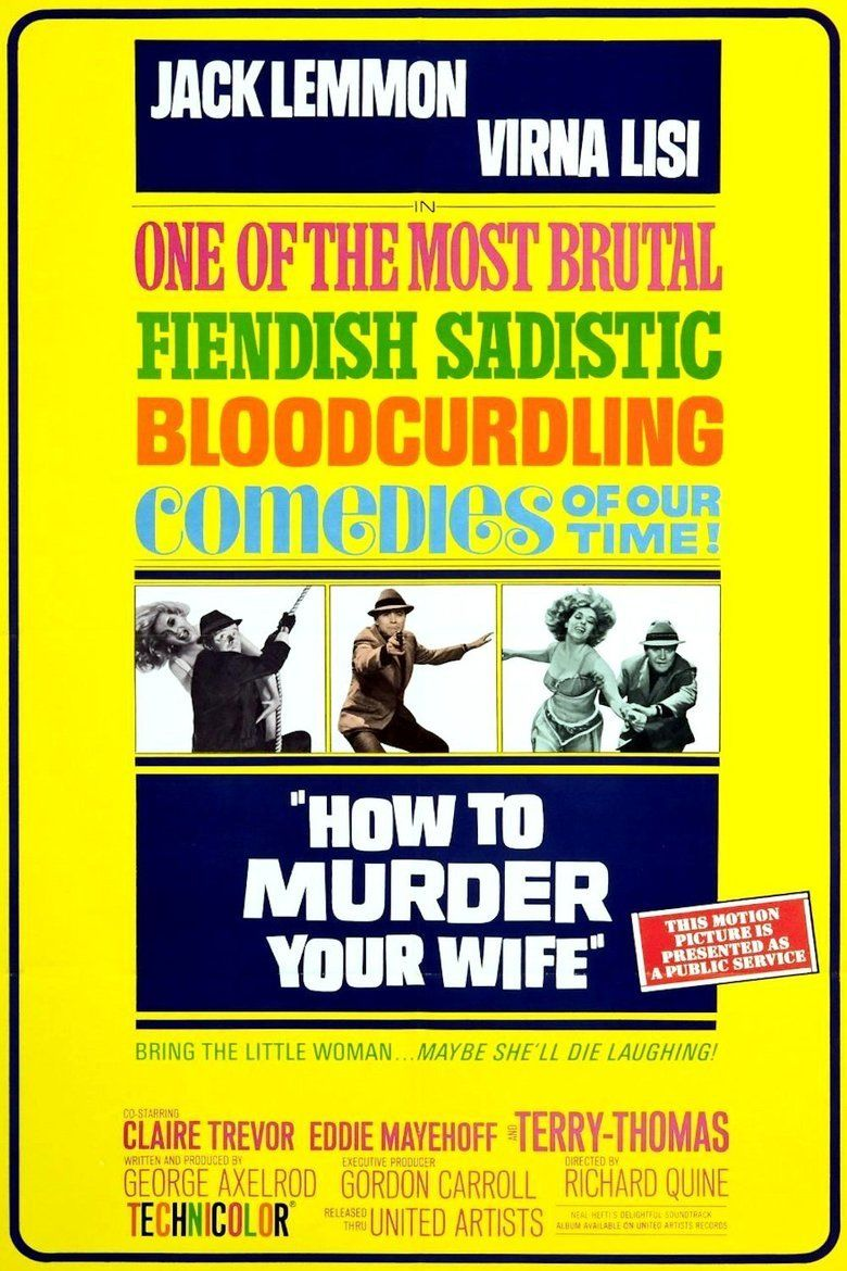 How to Murder Your Wife movie poster