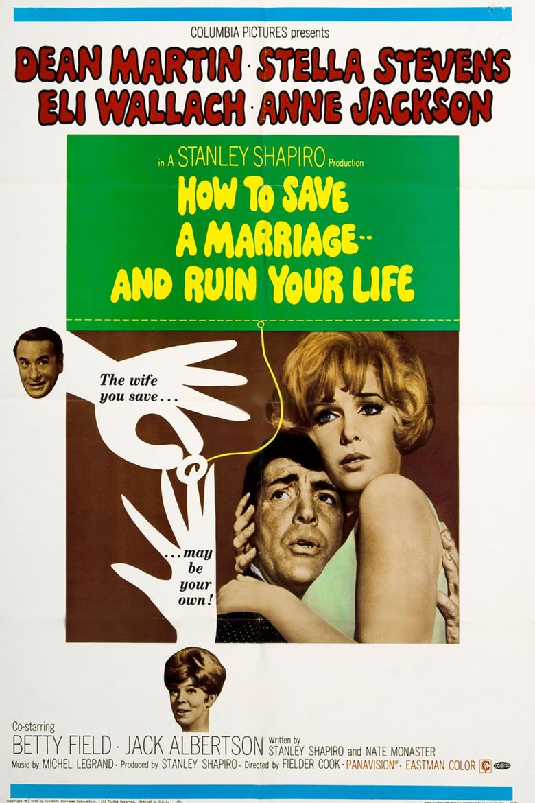 How to Save a Marriage and Ruin Your Life movie poster