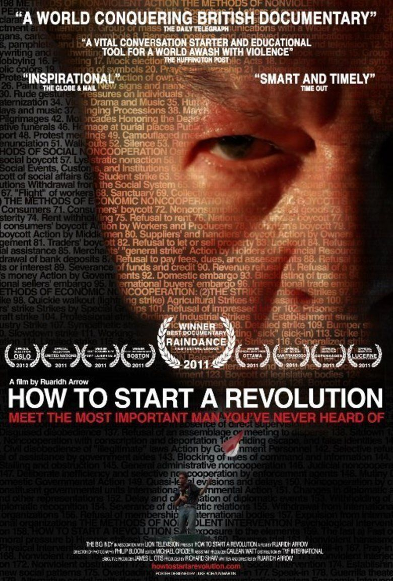 How to Start a Revolution movie poster