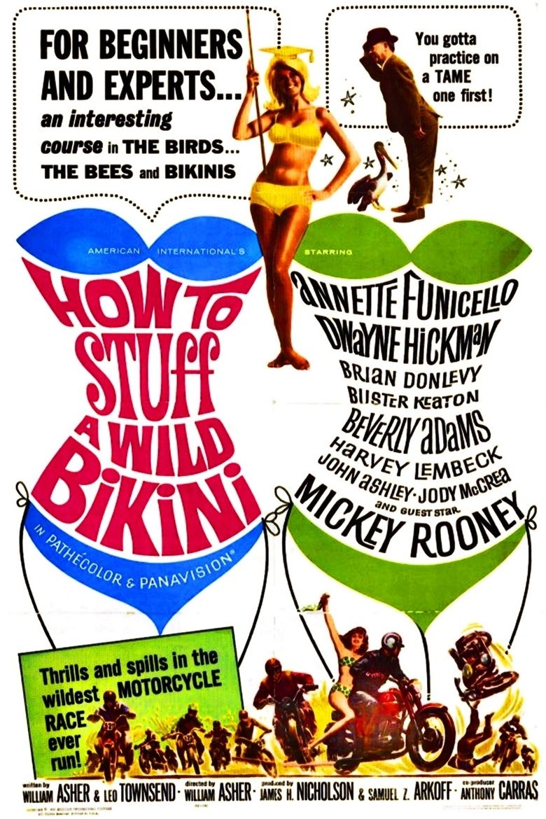 How to Stuff a Wild Bikini movie poster