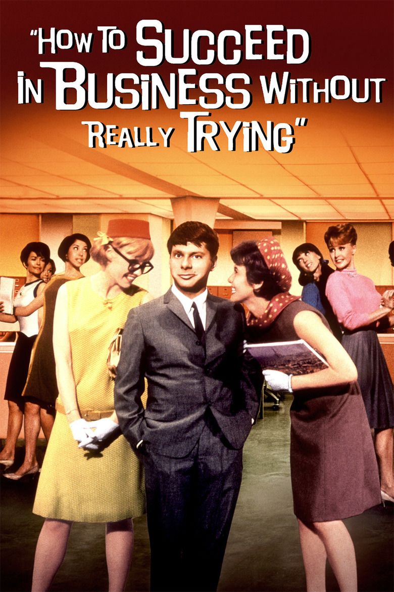 How to Succeed in Business Without Really Trying (film) movie poster