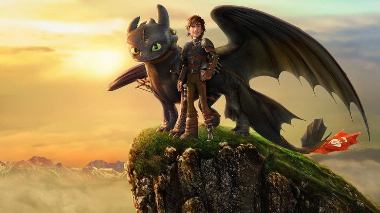 How to Train Your Dragon 2 movie scenes