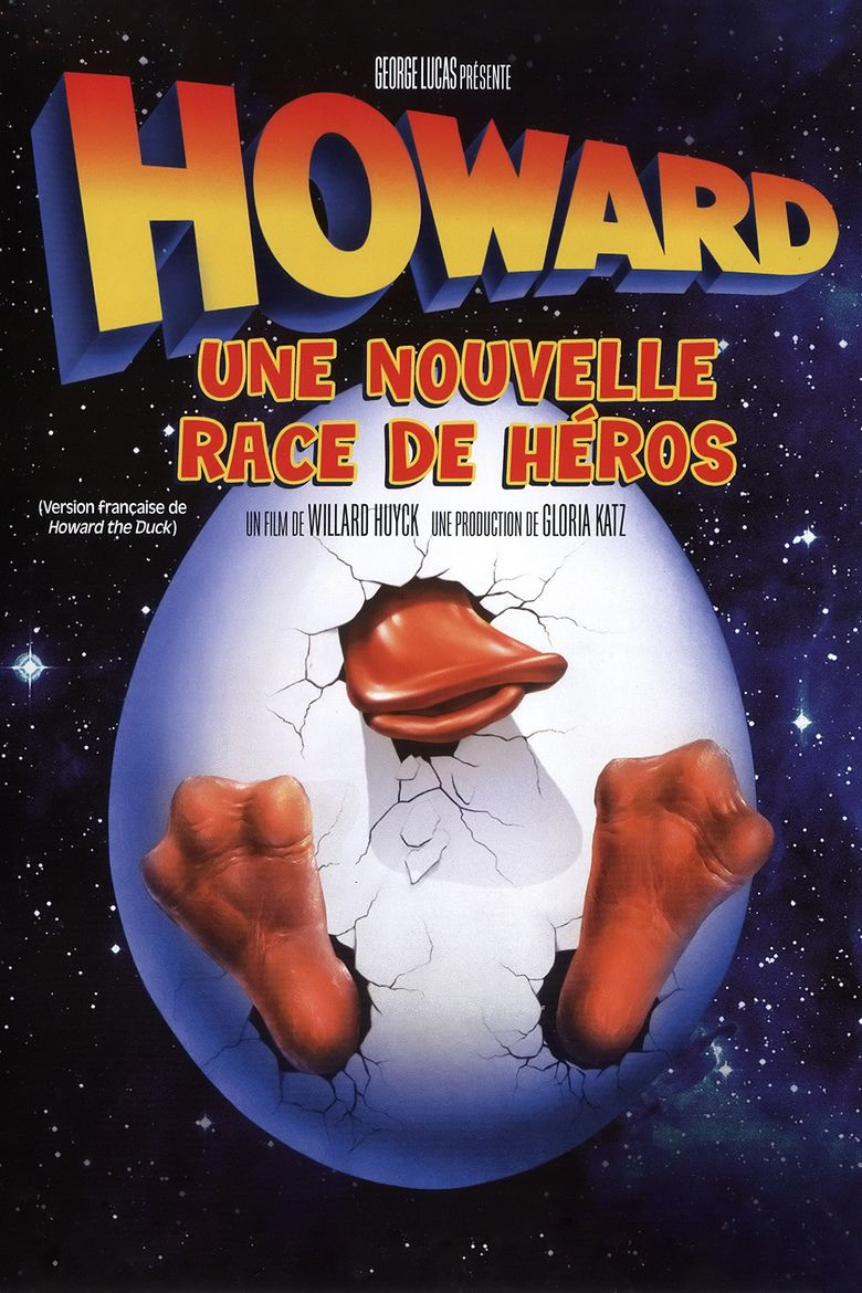 Howard the Duck (film) movie poster