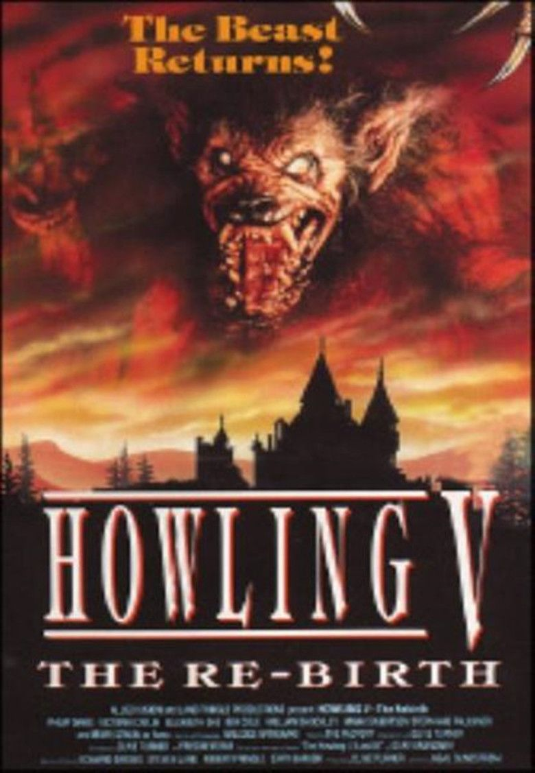 Howling V: The Rebirth movie poster