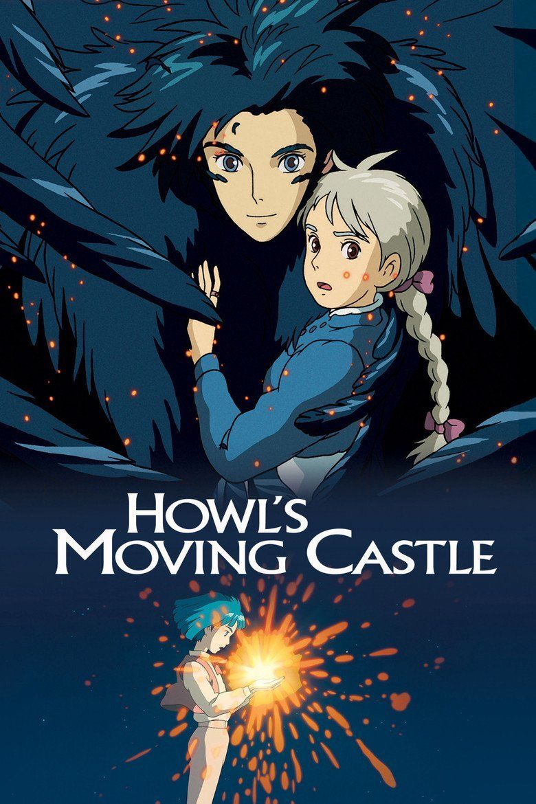 Howls Moving Castle (film) movie poster