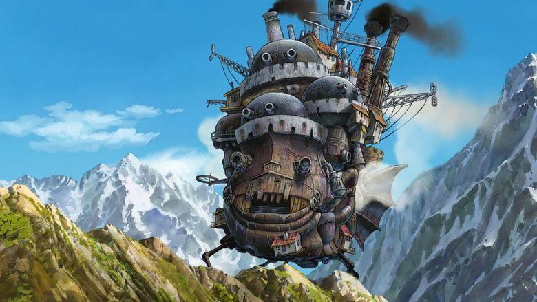 Howls Moving Castle (film) movie scenes