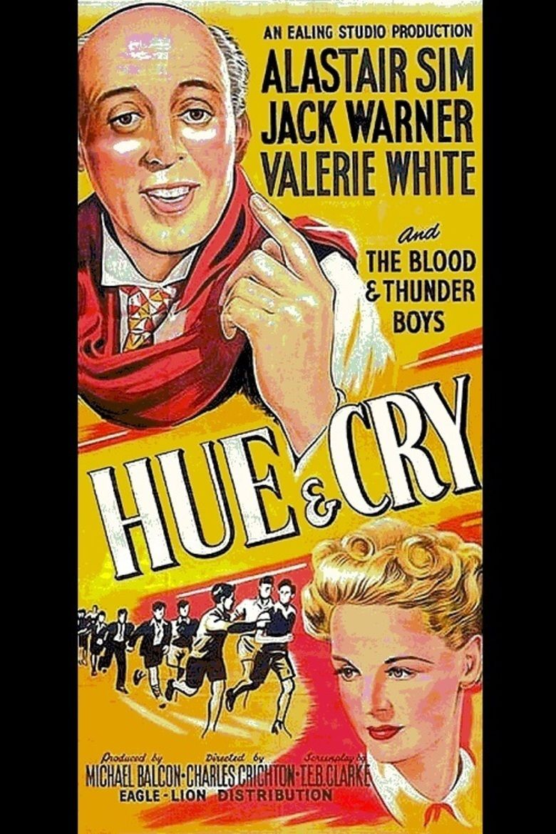 Hue and Cry (film) movie poster