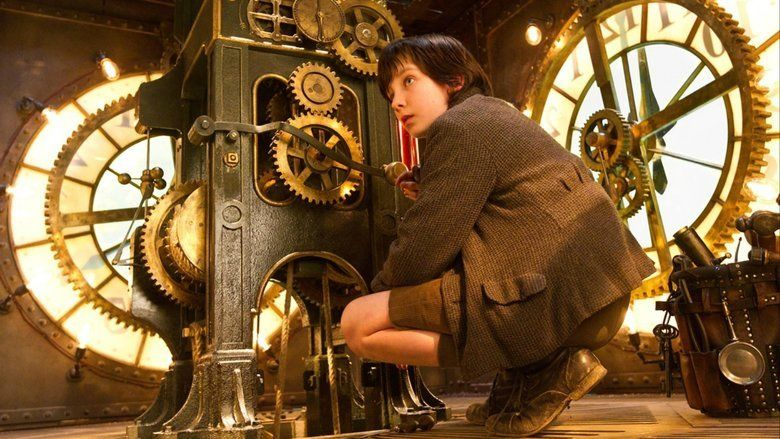 Hugo (film) movie scenes