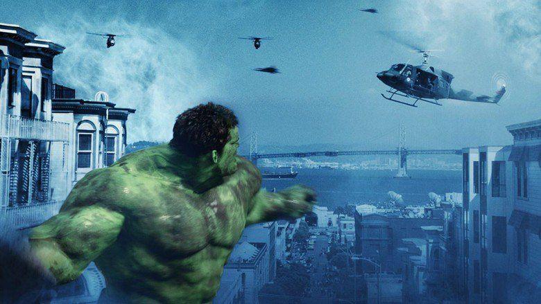 Hulk (film) movie scenes