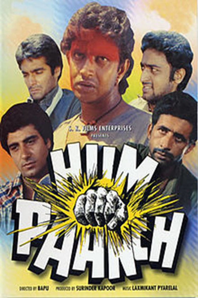 Hum Paanch (film) movie poster