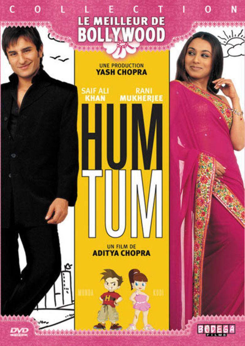 Hum Tum movie poster