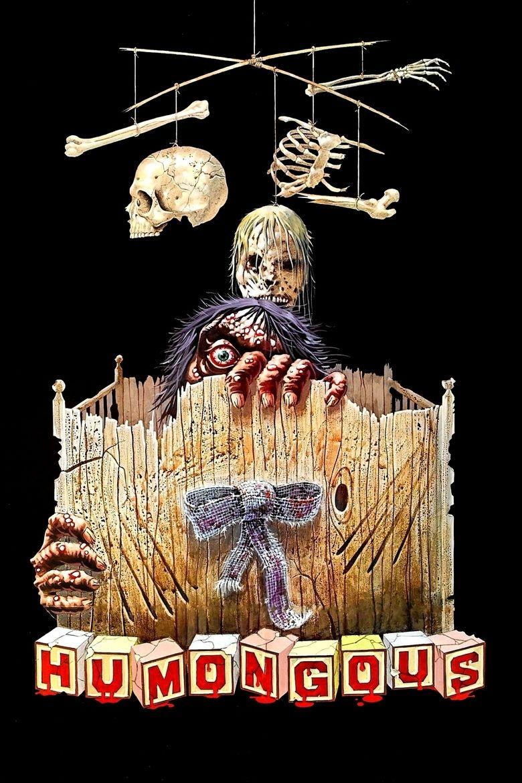 Humongous (1982 film) movie poster