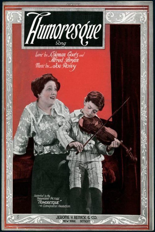 Humoresque (1920 film) movie poster