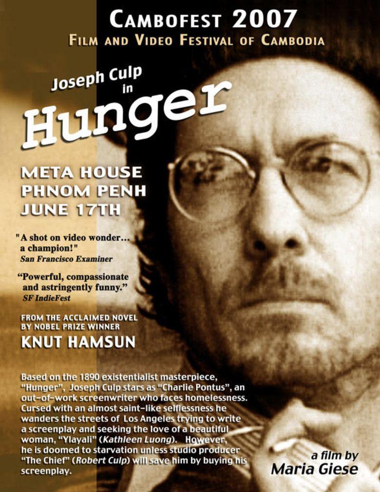 Hunger (2001 film) movie poster