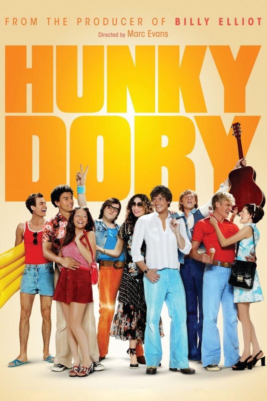 Hunky Dory (film) movie poster