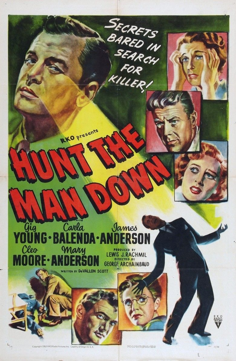 Hunt the Man Down movie poster
