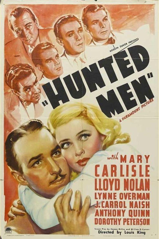Hunted Men movie poster