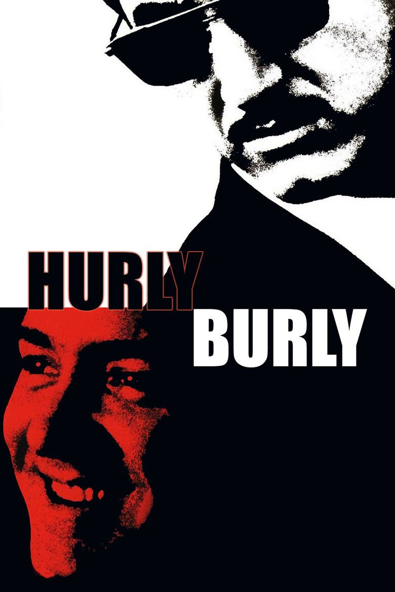 Hurlyburly (film) movie poster