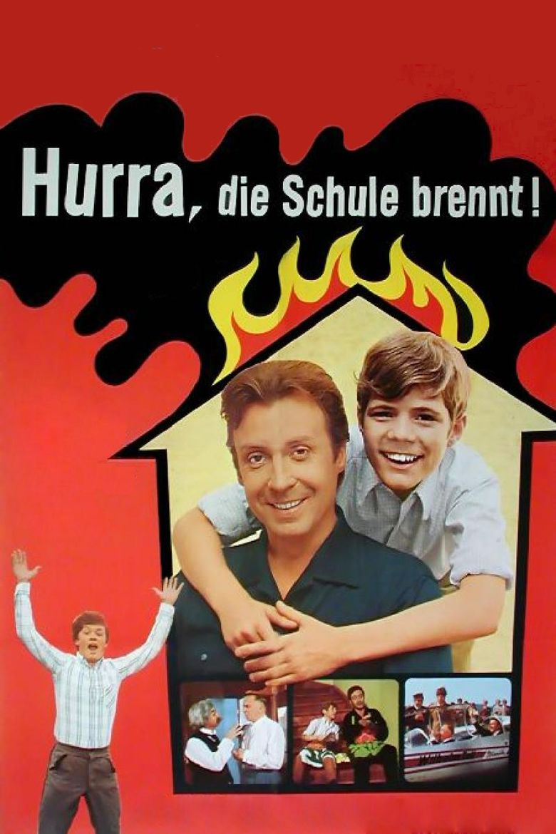 Hurrah, the School Is Burning movie poster
