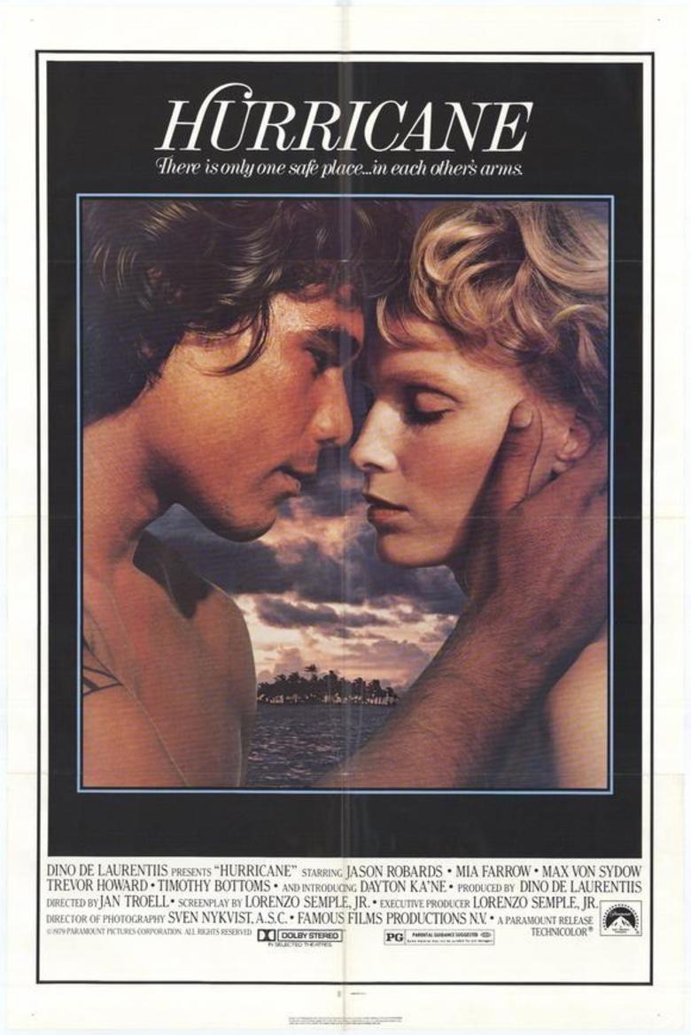 Hurricane (1979 film) movie poster