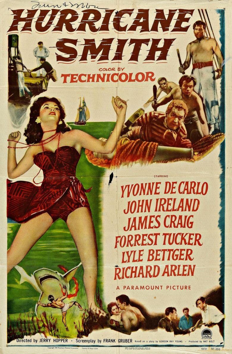 Hurricane Smith (1952 film) movie poster