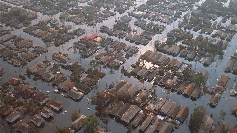 Hurricane on the Bayou movie scenes