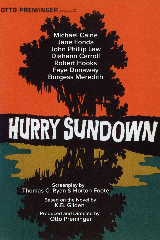Hurry Sundown (film) movie poster