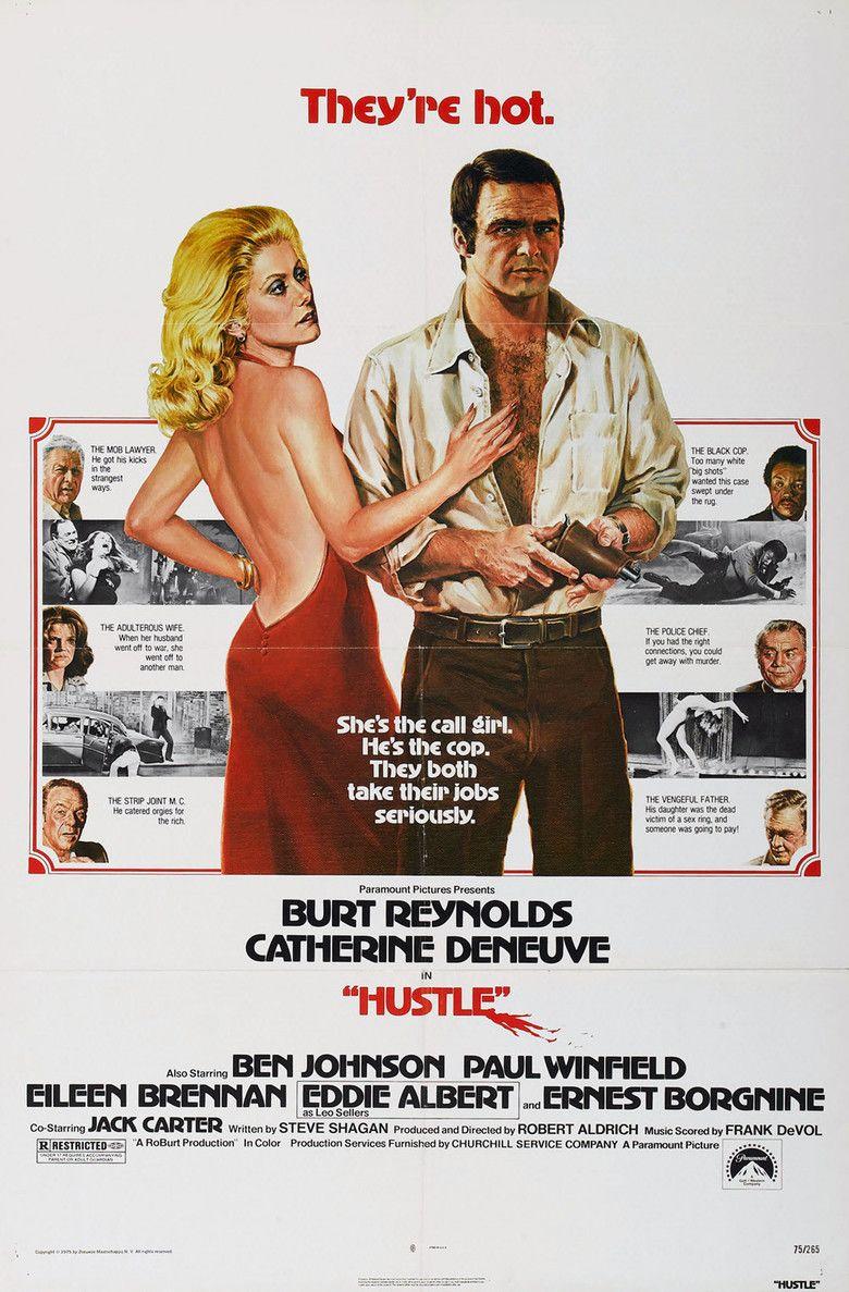 Hustle (1975 film) movie poster