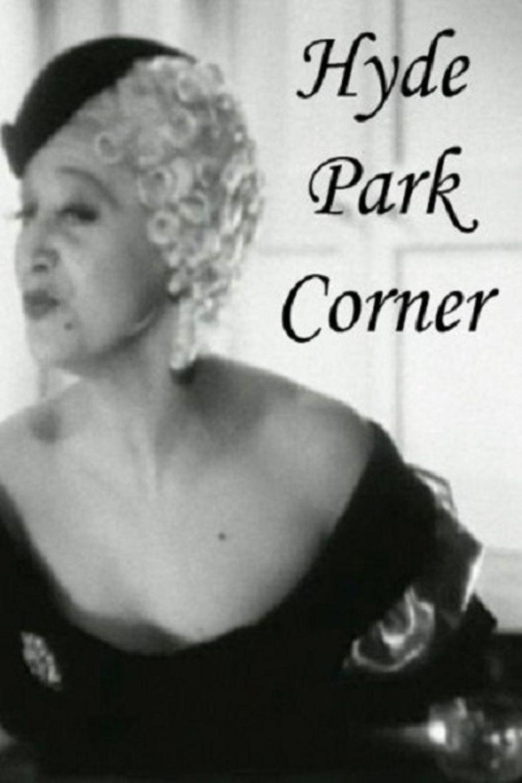 Hyde Park Corner (film) movie poster