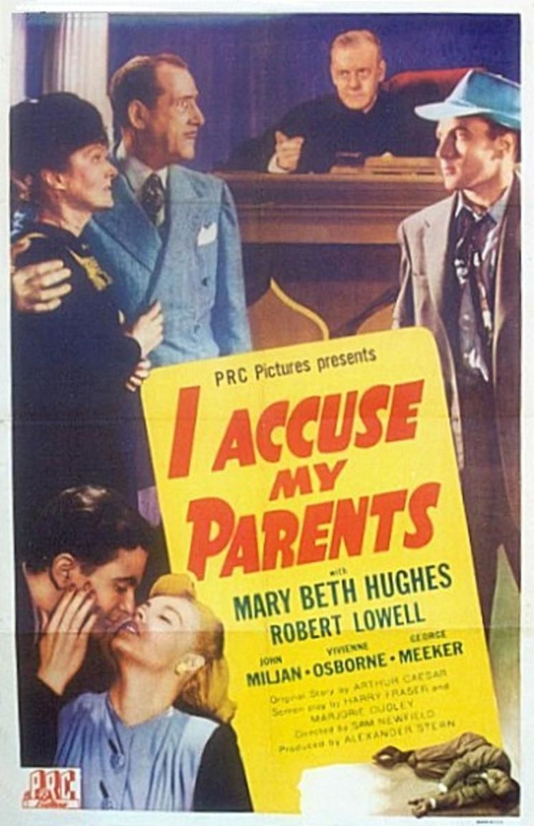 I Accuse My Parents movie poster