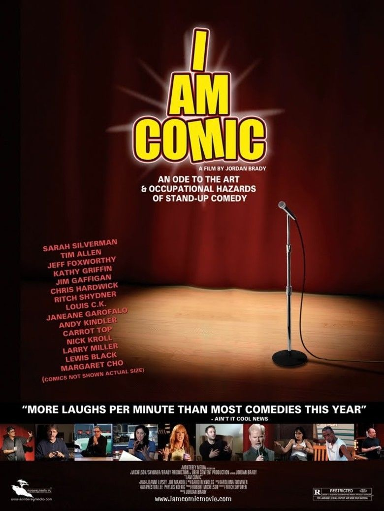 I Am Comic movie poster
