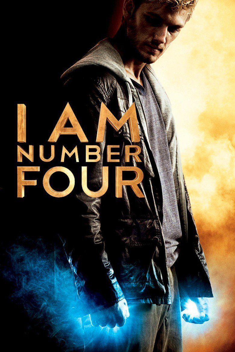 I Am Number Four (film) movie poster