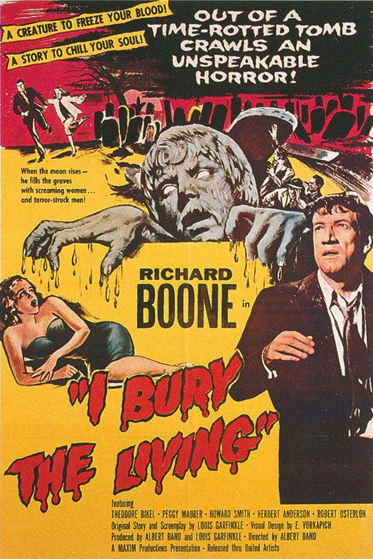 I Bury the Living movie poster