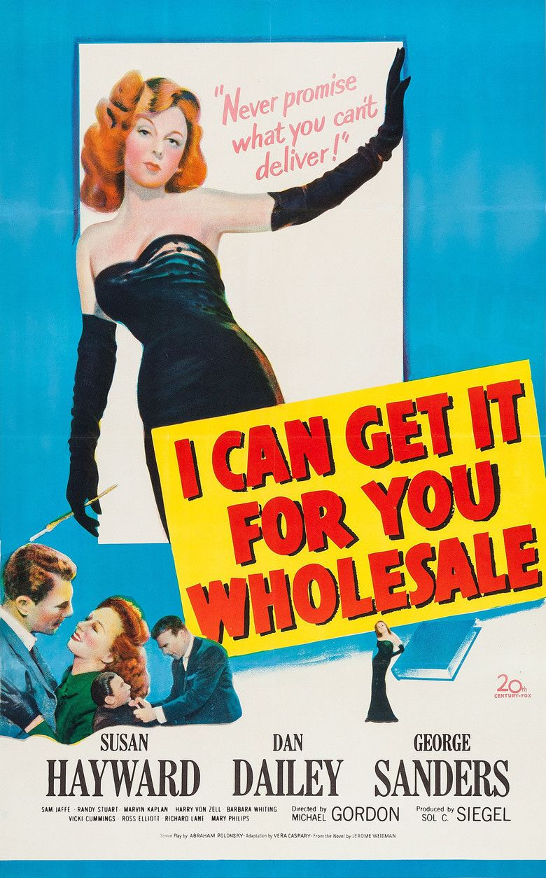 I Can Get It for You Wholesale (film) movie poster
