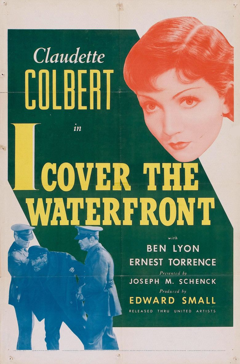 I Cover the Waterfront movie poster