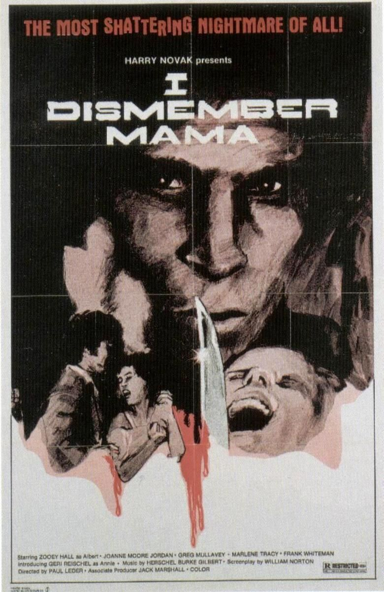 I Dismember Mama movie poster