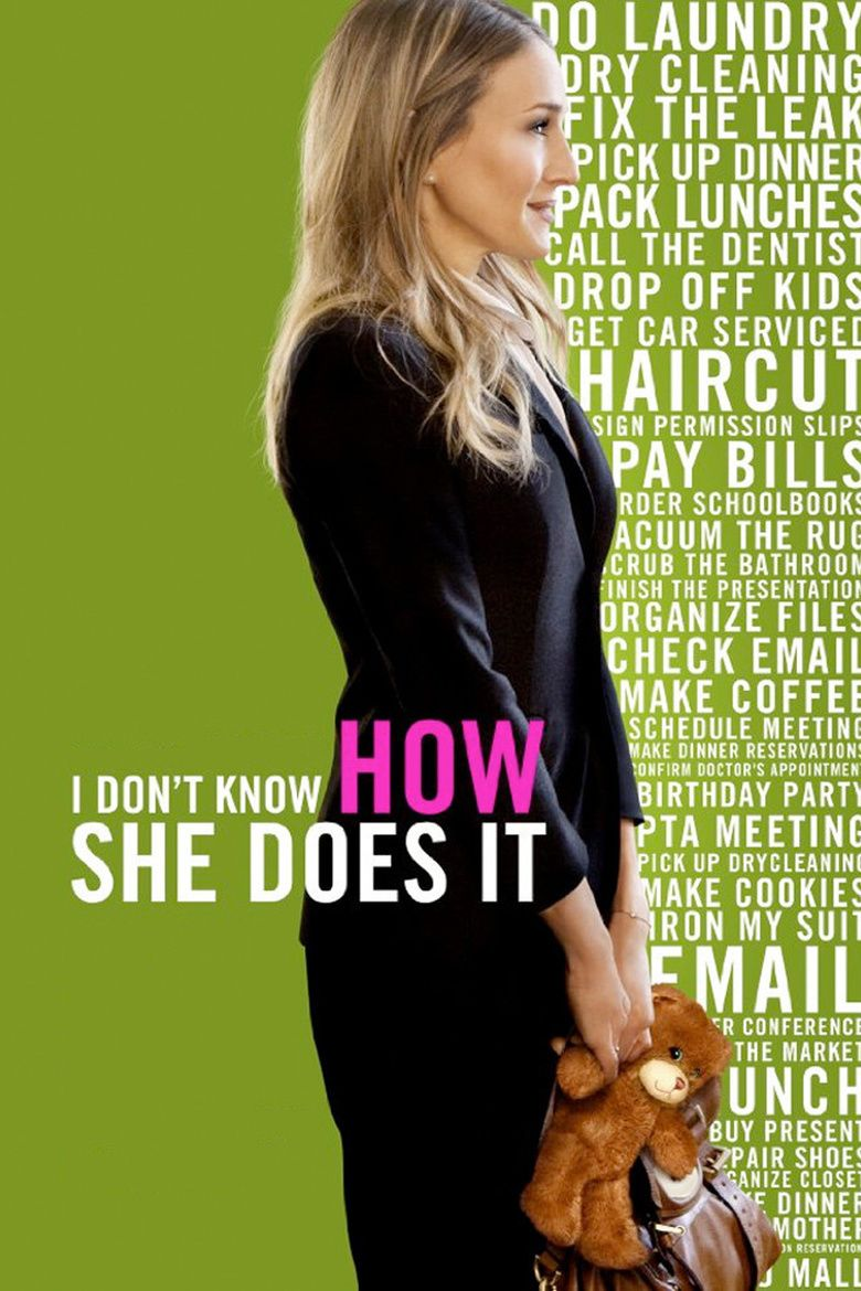 I Dont Know How She Does It movie poster