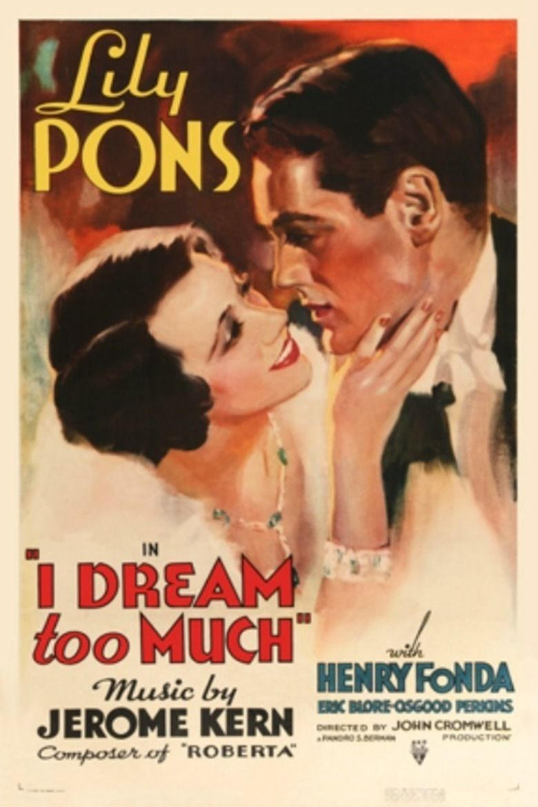 I Dream Too Much movie poster